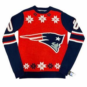 NWT New England Patriots Festive Sweater